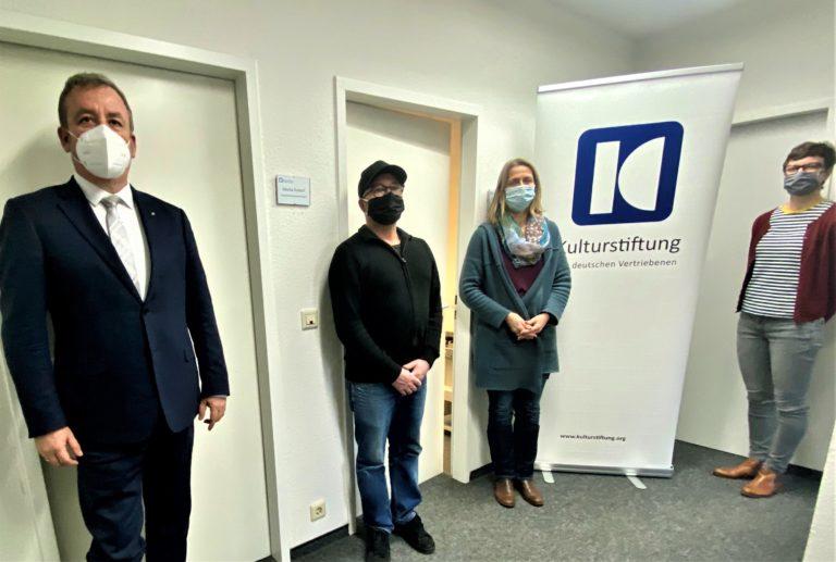 Kulturstiftung im Gespräch: Besuch des BdV-Präsidenten Prof. Dr. Bernd B. Fabritius in Bonn