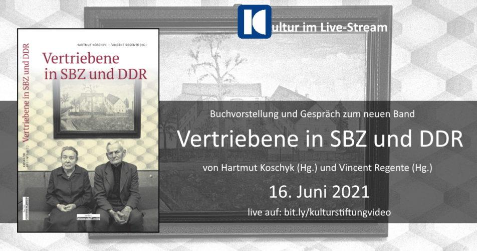 """Collage zur Buchvorstellung """"Vertriebene in SBZ und DDR"""" am 16. Juni 2021"""