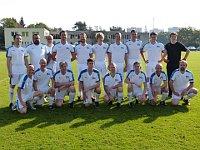 DFC Prag Traditionself Mannschaftsfoto 2015