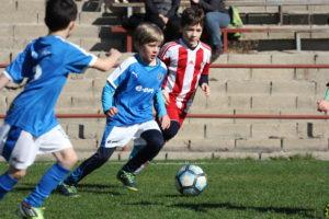 Jugendmannschaft des DFC Prag in Aktion