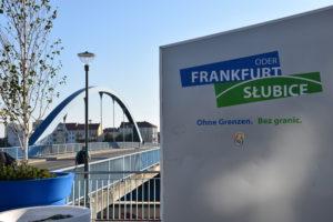 Foto: Stadtbrücke zwischen Frankfurt (Oder) und Słubice