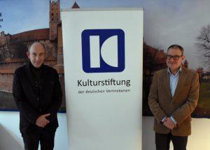 Referent für grenzüberschreitende Zusammenarbeit bei der Kulturstiftung der deutschen Vertriebenen nimmt Tätigkeit in Berlin auf