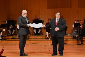 Foto: Verleihung des Europäischen Karlspreises an ehem. Kulturminister Tschechiens Daniel Herman