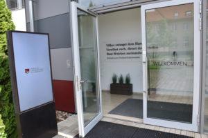 Foto: Eingang zum Museum für russlanddeutsche Kulturgeschichte