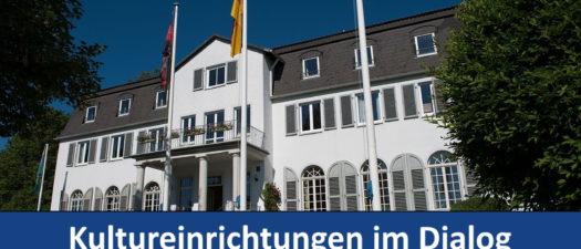 Collage zur Dialogveranstaltung im Heiligenhof