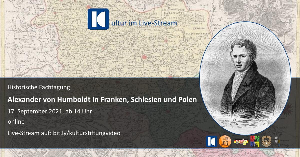 Collage: Humboldt in Franken/Schlesien/Polen