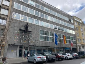 Das Gerhart-Hauptmann-Haus in Düsseldorf