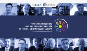 """Konferenzteilnehmer """"Minderheitenschutz und Volksgruppenrechte in Mittel- und Mittelosteuropa"""" im Februar 2021"""