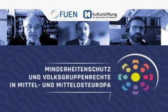 """Teilnehmer der Februarkonferenz """"Minderheitenschutz und Volksgruppenrechte in Mittel- und Mittelosteuropa"""""""