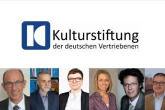 Logo und Teamporträts der Kulturstiftung 2021