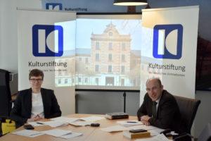 Dr. Kathleen Beger und Thomas Konhäuser leiteten die Tagung