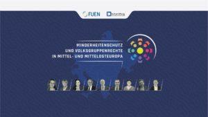 """""""Minderheitenschutz und Volksgruppenrechte in Mittel- und Mittelosteuropa"""" Tagungsteilnehmer April 2021"""