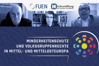 """Konferenz """"Minderheitenschutz und Volksgruppenrechte in Mittel- und Mittelosteuropa"""" im März 2021"""