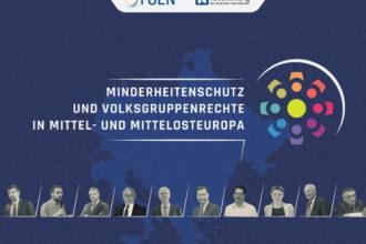 Referentenporträts und Logo der Veranstaltung
