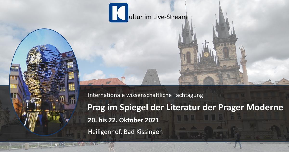 Collage: Einladung zur Fachtagung Prag im Spiegel der Prager Literatur der Moderne