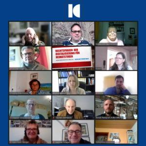 """Online-Workshop """"Rechtsfragen der Digitalisierung für Heimatstuben"""""""