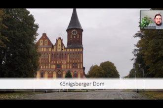 Lars Fernkorn verwies in seinem Online-Vortrag auf die spannende Geschichte des Königsberger Doms