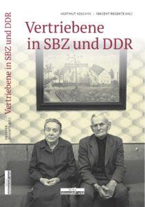 """Einband des Buches """"Vertriebene in SBZ und DDR"""""""