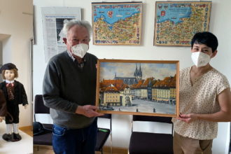 Collage: Digitalisierung in Weilburg