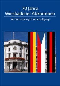 """Deckblatt der Broschüre """"70 Jahre Wiesbadener Abkommen"""""""