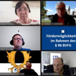 """Teilnehmerinnen und Teilnehmer des Workshops """"Fördermöglichkeiten im Rahmen des §96 BVFG"""""""