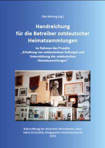 Handreichung für die Betreiber ostdeutscher Heimatsammlungen