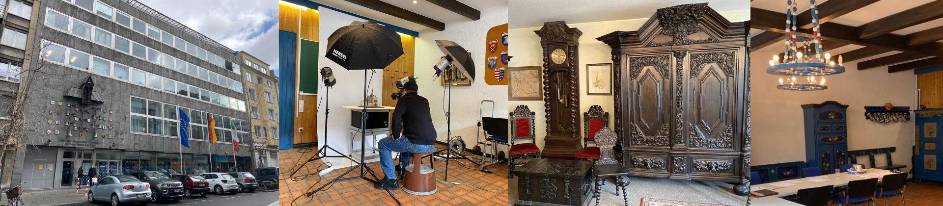 Aufnahmen im Gerhart-Hauptmann-Haus